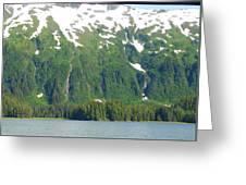 Glacier 7 Greeting Card