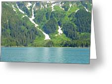 Glacier 9 Greeting Card