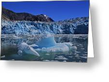 Glacier And Ice Greeting Card