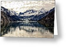 Glacier Bay Landscape - Alaska Greeting Card