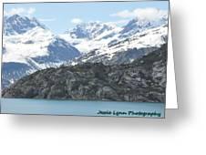 Glacier Bay National Park Greeting Card