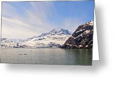 Glacier Bay Sky Greeting Card