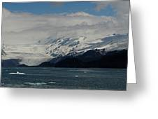 Glacier In Prince William Sound Greeting Card