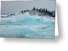 Glacier Greeting Card