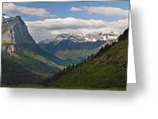 Glacier National Park Greeting Card by John Shaw