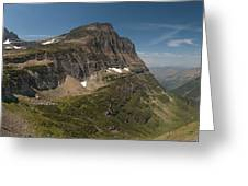 Glacier National Park Panorama Greeting Card