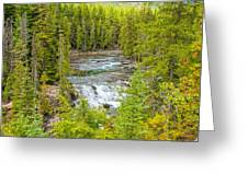 Glacier National Park Splendor Greeting Card
