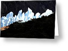 Glacier Onelli Greeting Card by Arie Arik Chen