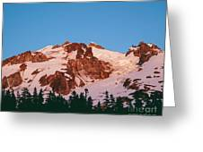 Glacier Peak At Kennedy Ridge Greeting Card