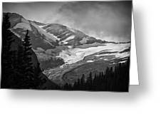 Glacier Greeting Card by Stuart Deacon