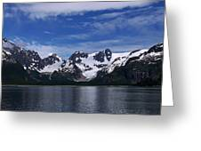 Glacier View Greeting Card