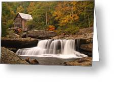 Glade Creek Grist Mill 10 Greeting Card