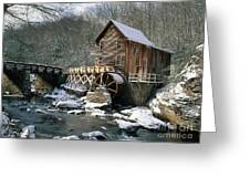 Glade Creek Grist Mill In West Virginia Greeting Card