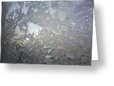 Gladiolas In Ice Greeting Card by Jaime Neo