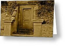 Glasgow Necropolis Monument Greeting Card