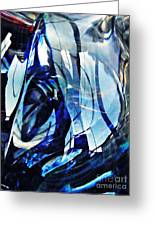 Glass Abstract 140 Greeting Card