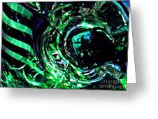 Glass Abstract 143 Greeting Card