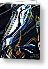 Glass Abstract 150 Greeting Card