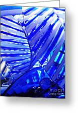 Glass Abstract 223 Greeting Card