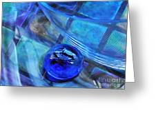 Glass Abstract 238 Greeting Card