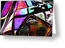 Glass Abstract 316 Greeting Card