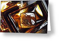 Glass Abstract 318 Greeting Card