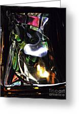 Glass Abstract 323 Greeting Card