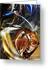 Glass Abstract 476 Greeting Card
