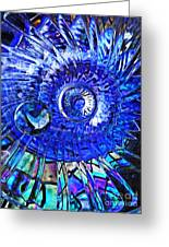 Glass Abstract 478 Greeting Card