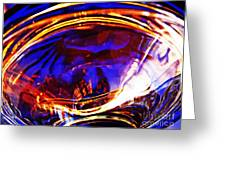 Glass Abstract 554 Greeting Card