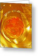 Glass Abstract 580 Greeting Card