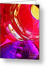 Glass Abstract 607 Greeting Card
