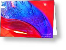 Glass Abstract 610 Greeting Card