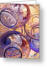 Glass Abstract 620 Greeting Card
