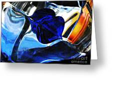 Glass Abstract 706 Greeting Card