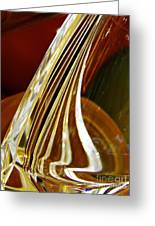 Glass Abstract 744 Greeting Card
