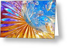 Glass Abstract 767 Greeting Card
