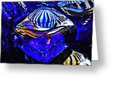 Glass Abstract 95 Greeting Card