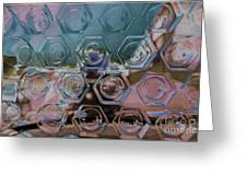 Glass Abstract II Greeting Card