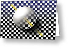 Glass Ball  Greeting Card