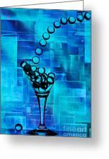 Glass Balls Greeting Card