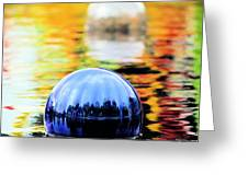 Glass Floats Greeting Card