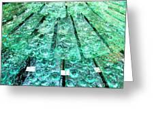 Glass Fountain Greeting Card