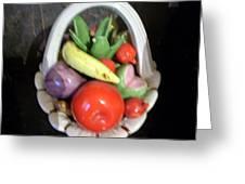 Glass Fruit Bowl Greeting Card