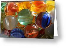Glass In Glass 3 Greeting Card