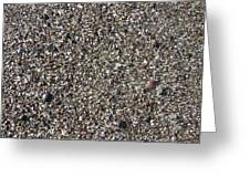 Glass In The Gravel Greeting Card