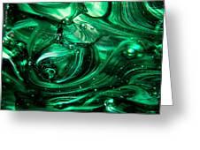 Glass Macro Abstract Egw2 Greeting Card