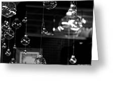 Glass Ornaments Greeting Card