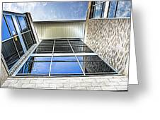 Glass Reflections Greeting Card
