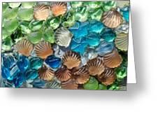 Glass Seashell Greeting Card